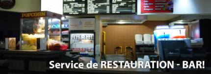 service de restauration et bar